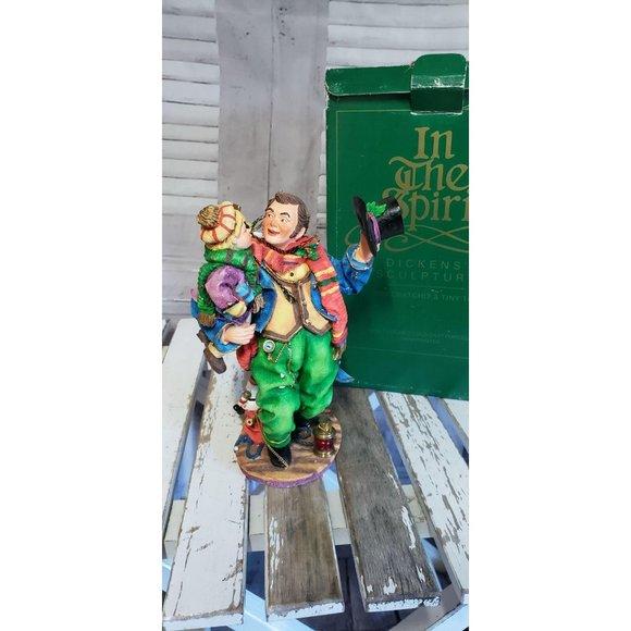 Dept 56 Dickens Sculpture In the spirit Bob Cratch